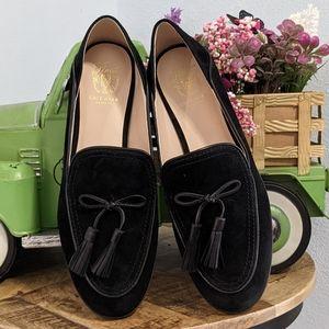 NIB Cole Haan black suede Pinch loafers